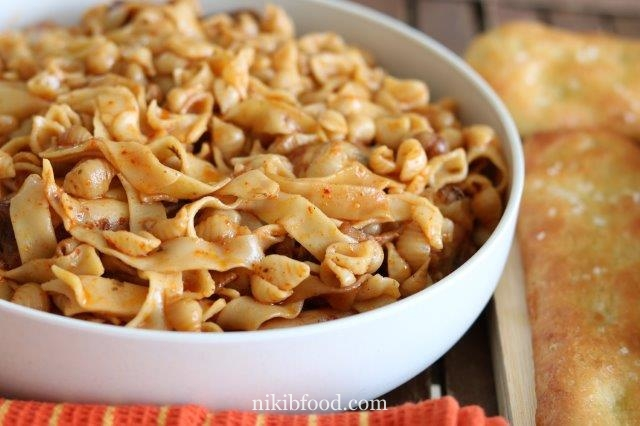 Slow cooked chicken pasta bake