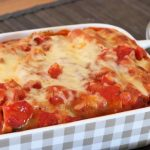 Cheese cannelloni