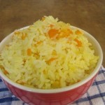 rice and carrots