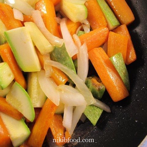 Stir Fry Zucchini And Carrots