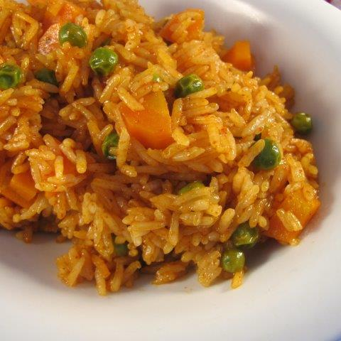 Red rice microwave