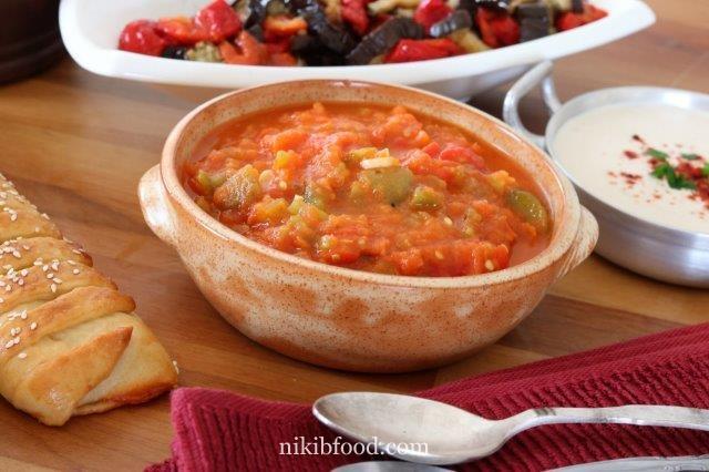 Matbucha recipe