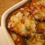 Eggplants Gratin