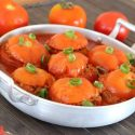 Stuffed tomatoes with ground beef and rice