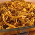Spaghetti bolognese easy recipe