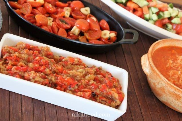 Romanian Eggplant Salad