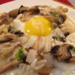 Tortilla fried egg