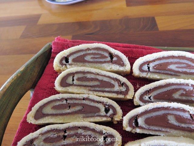 Shortcrust pastry roulade / Photo : nikib
