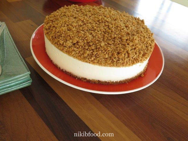 Honey Mousse Cake