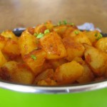 Fast potatoes recipe