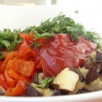 Eggplant Salad with Ketchup