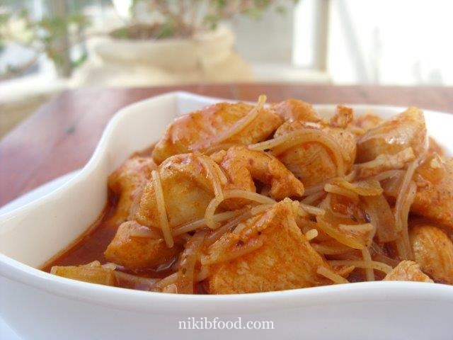 Chicken Breast with Noodles