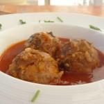 Porcupine Meatballs in Sauce