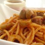 Spaghetti and Olives