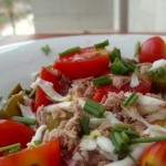 Tuna and Eggs Salad
