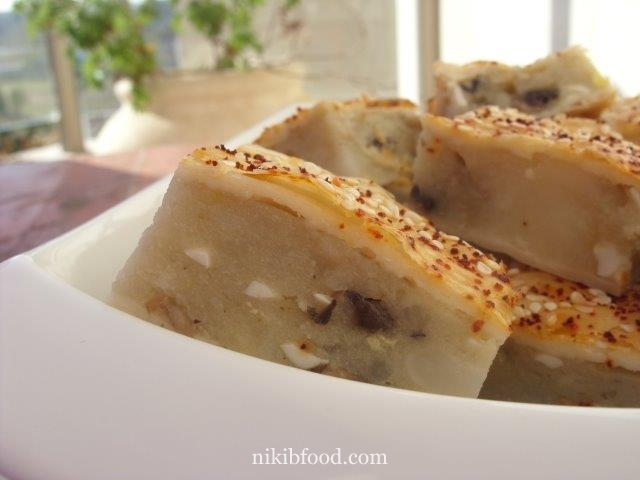 Potato and mushroom pie - NikiB - Making Food with Love