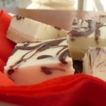 Cream cheese and chocolate squares