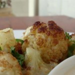 Cauliflower in Tahini
