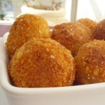 Meat and potato croquettes