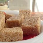 Energy Bars of Rice Krispies