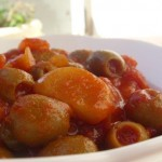 Spicy Hot Olive Salad