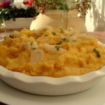Garlic Mash Potatoes with Heavy Cream