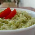 Zucchini Salad Liver Flavored