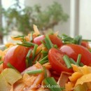 Carrot salad with Honey