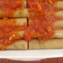 Cannelloni Stuffed with Meat and Spinach