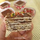 Chocolate matzo cake