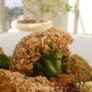 Broccoli with bread crumbs