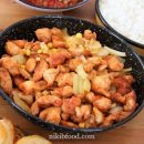 Chicken Breast with Corn