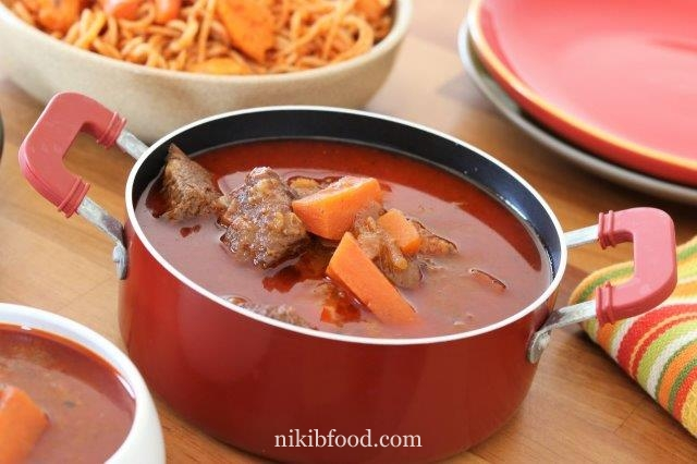 Beef and Tomato Soup Recipe