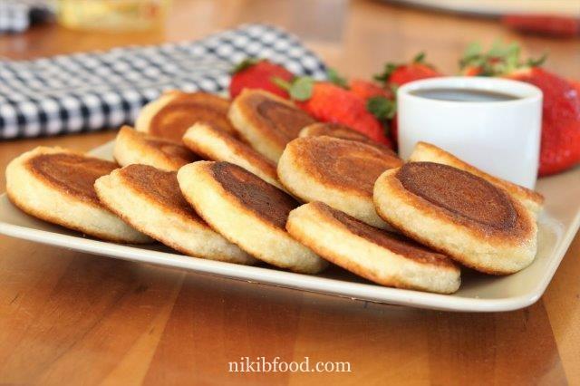 Pancake with gluten free flour
