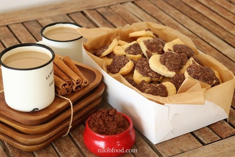 Chocolate Vanilla Dairy-Free Cookies