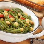 Gnocchi with green beans