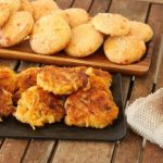 Baked Potato and Sweet Potato Latkes