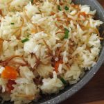 Rice with Israeli couscous