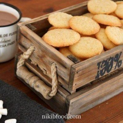 Simple vanilla cookies