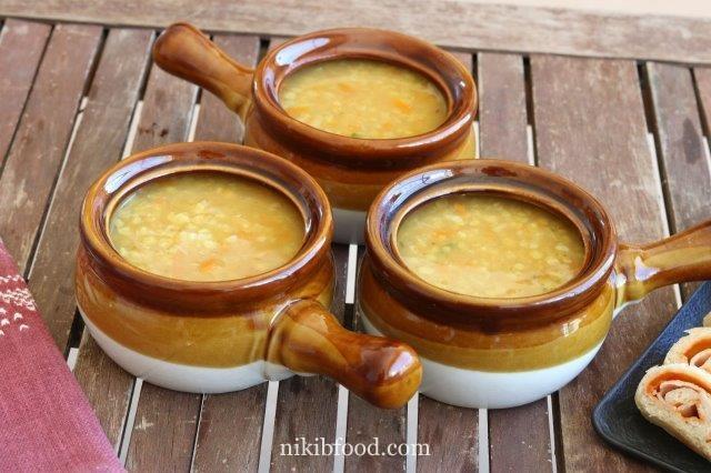 Quick lentil soup
