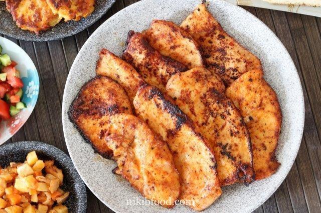 Maple mustard chicken breast