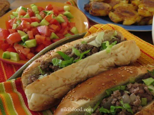 Ground Beef Sandwiches
