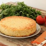 Crustless corn quiche recipe