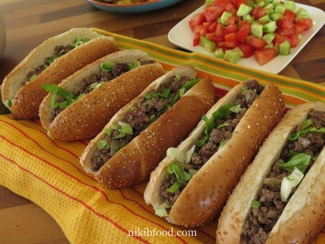 Ground Beef Sandwiches