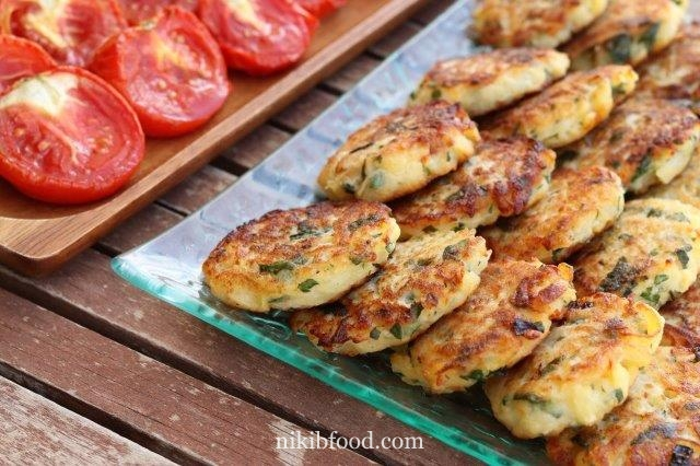 Aruk - iraqi vegetable patties