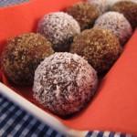Chocolate balls tahini