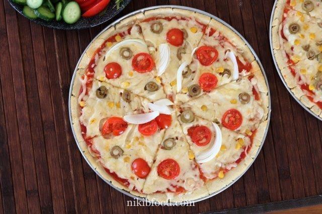 Passover Pizza Dough