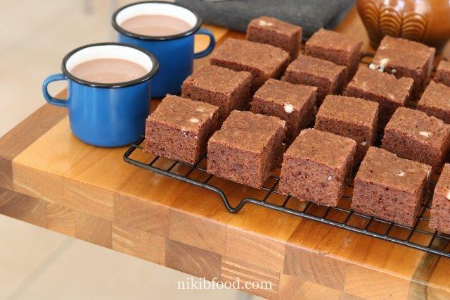 Quick mix brownies