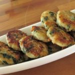 Swiss Chard And Potato fritters