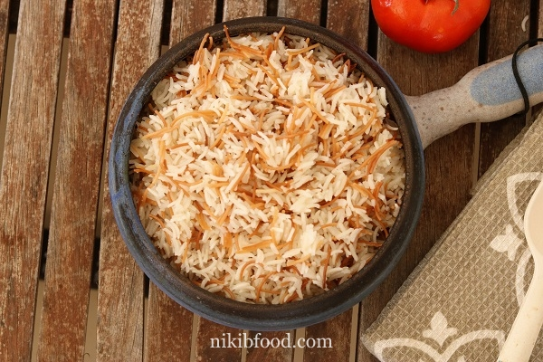 Rice with Noodles